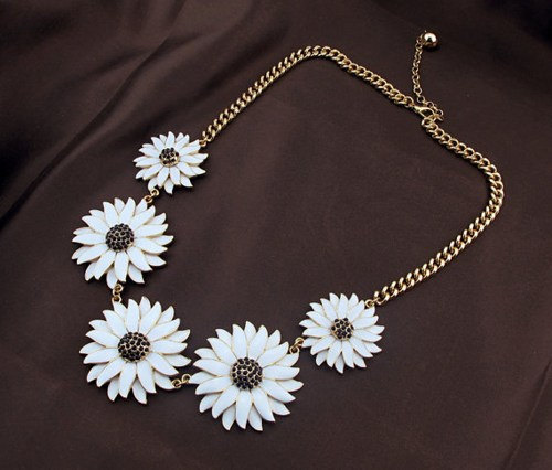 White flower necklacebubble necklacebeadwork necklacebib necklace white flower necklacebubble necklacebeadwork necklacebib necklacestatement necklacegiftwedding necklace mightylinksfo